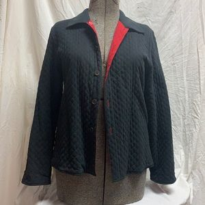 Vintage Quilted Reversible Bottom Down Jacket